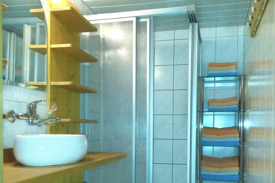 Badezimmer Alpe